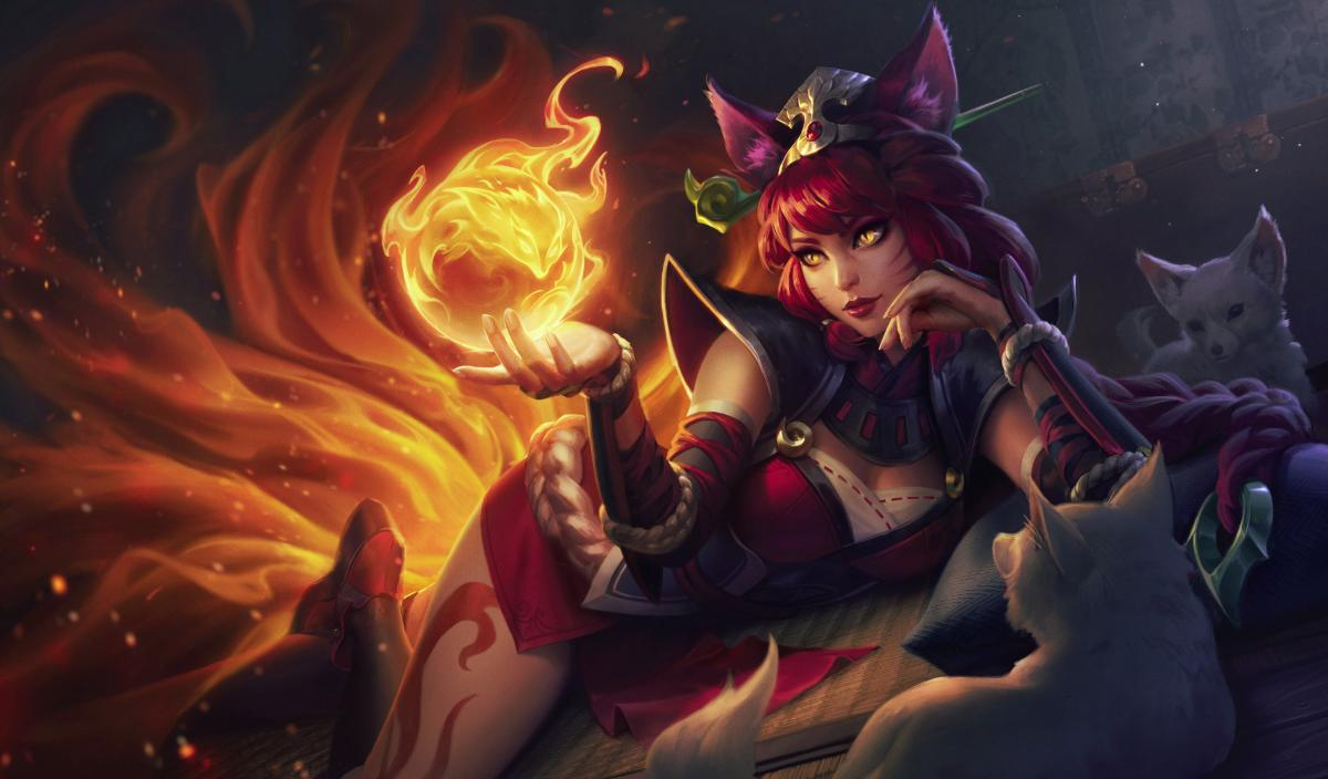 Ahri Skin League of Legends: Wild Rift