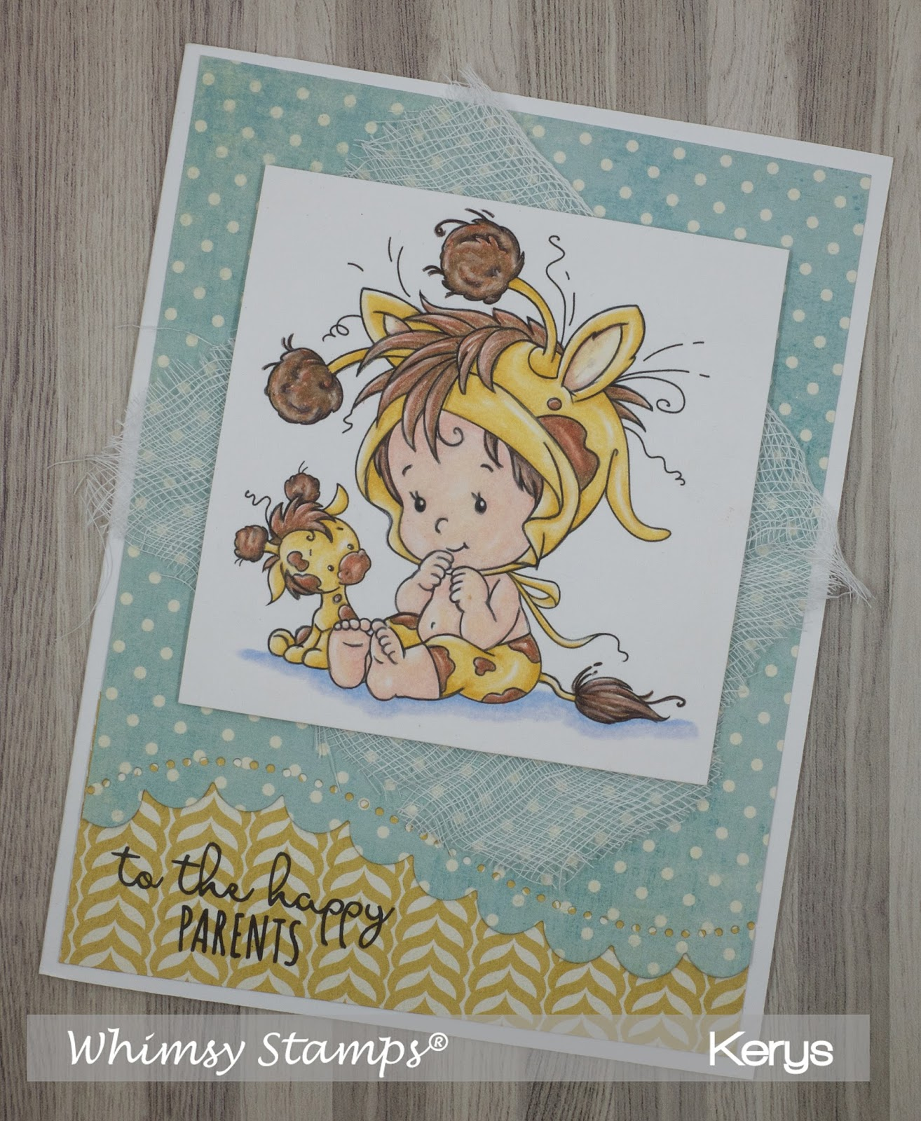 Scrappin N Happy Whimsy Stamps July Clear Amp Rubber Stamp