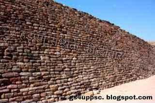हड़प्पा सभ्यता की दीवार