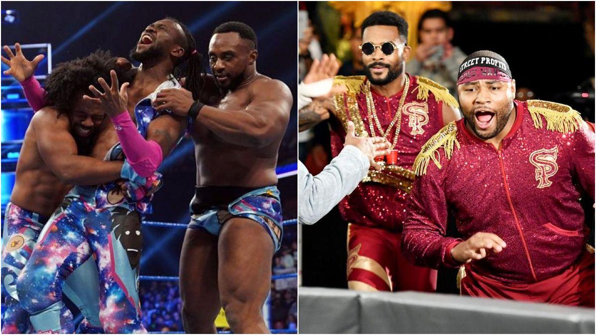 New Day e Street Profits trocam seus títulos de duplas no WWE Draft