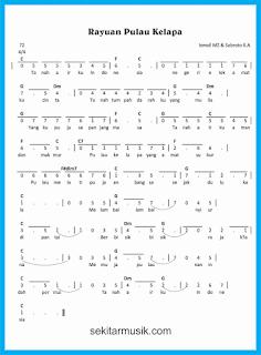 not angka rayuan pulau kelapa lagu wajib
