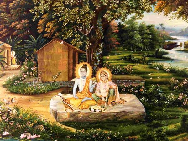 Rama at Chitrakut