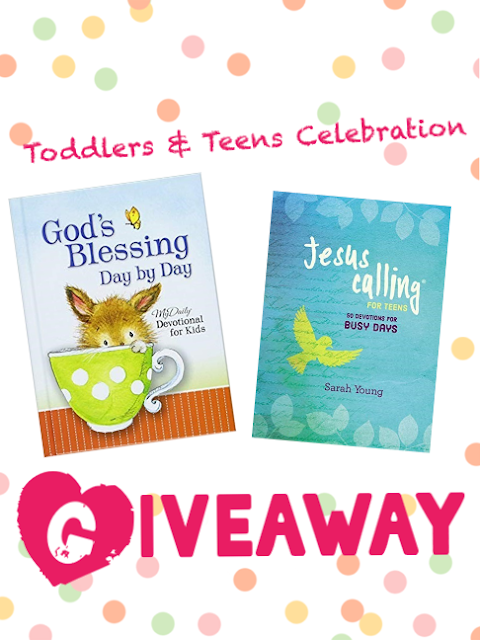Toddlers & Teens Celebration Giveaway