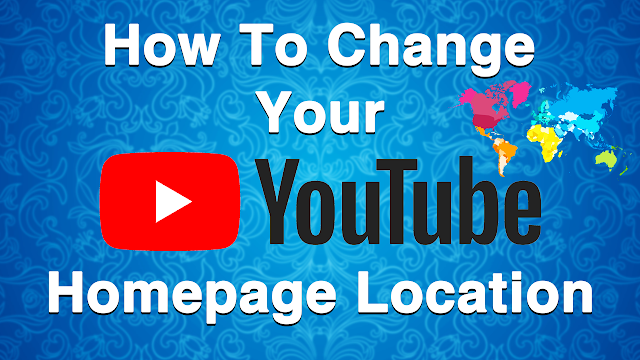 How To Change YouTube Location/Country Worldwide 2020 [ Under 1 Minute ]