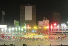 ICC Cricket World Cup 2011 Opening Ceremony in Bangladesh