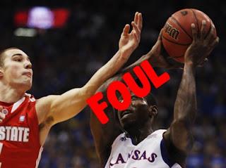 kesalahan dalam permainan bola basket