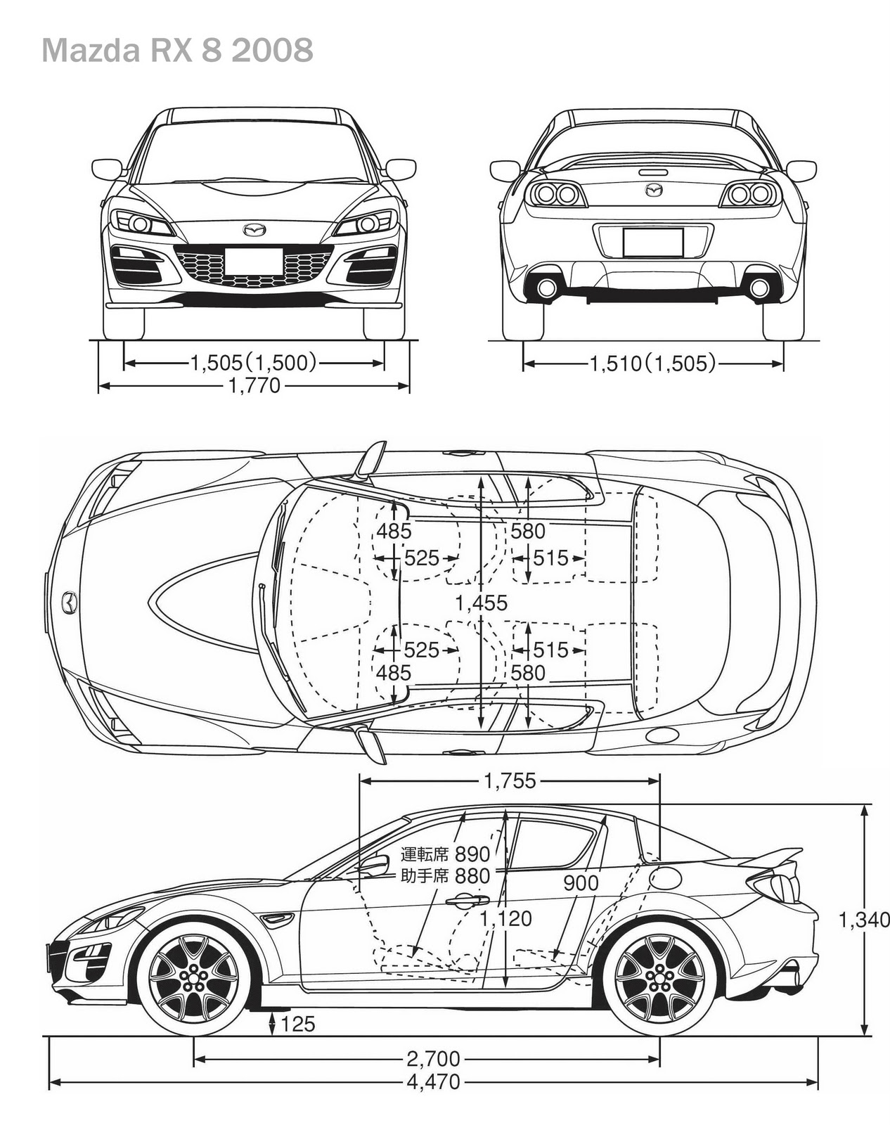 Rhinoceros design- MAZDA RX8 ~.Ayie Azhari Design....