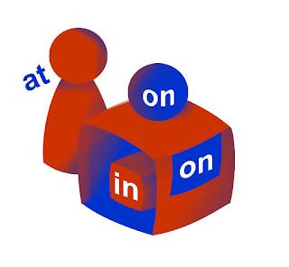 Onion's English ~ Perbedaan Penggunaan IN, ON dan AT di Bahasa Inggris