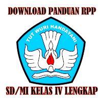 Download Panduan RPP Kelas IV SD/MI Lengkap