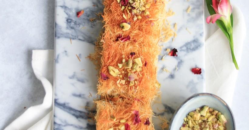 Arabische Süßigkeit: Knafeh