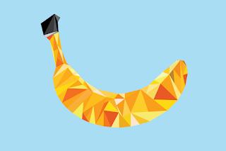 seniman, karya, pisang, dunia pisang