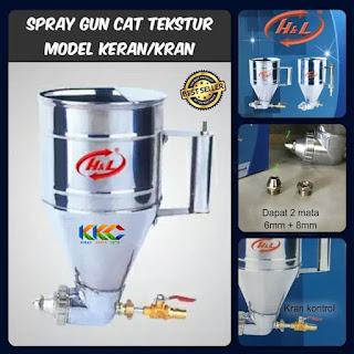 Spray gun tekstur model keran 2