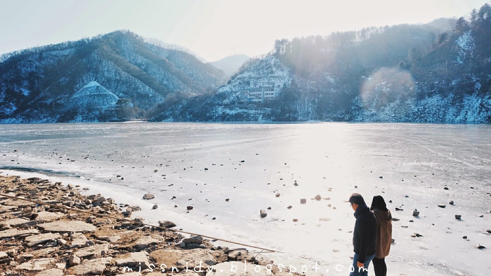 jalan-jalan ke korea selatan pas musim dingin
