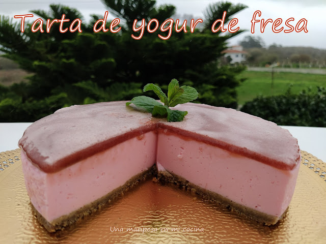 Tarta De Yogur De Fresa