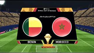 مشاهدة مباراة المغرب وبنين بث مباشر بتاريخ 2019/07/05 ثمن نهائي كأس الأمم الأفريقية