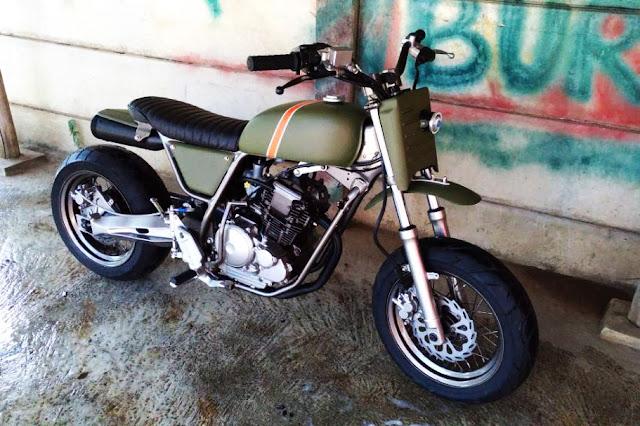 Yamaha Scorpio 225cc The Laleur Hejo 5