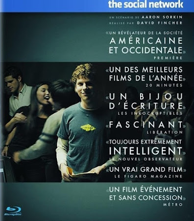 Poster Of The Social Network In Dual Audio Hindi English 300MB Compressed Small Size Pc Movie Free Download Only At worldfree4u.com