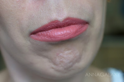 Освежающий оттенок Bourjois Rouge Fabuleux Lipstick 06 sleepink beauty свотчи