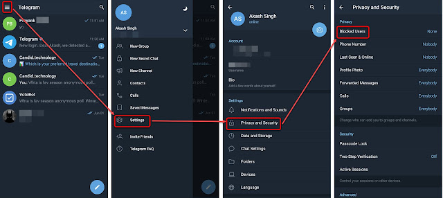 access blocked channels of Telegram on iPhone