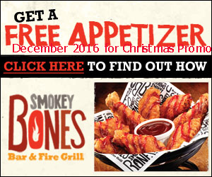 Smokey Bones coupons december