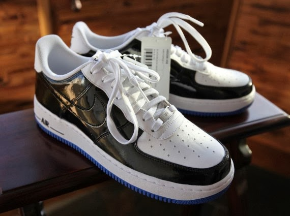 air force 1 patent black