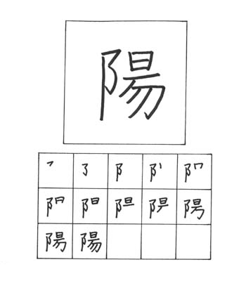 kanji matahari