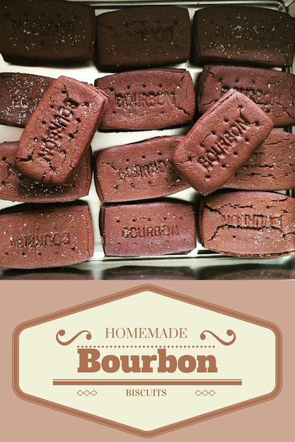 easy homemade Bourbon biscuit recipe from Mrs Bishop