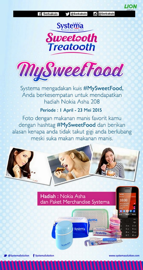 My SweetFood Competition