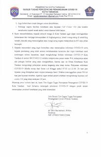 Press Release COVID-19 Tarakan 22 Juli 2020 - Tarakan Info