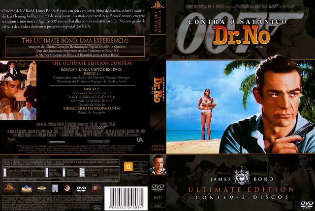 Capa DVD 007 Contra o Satânico Dr. No