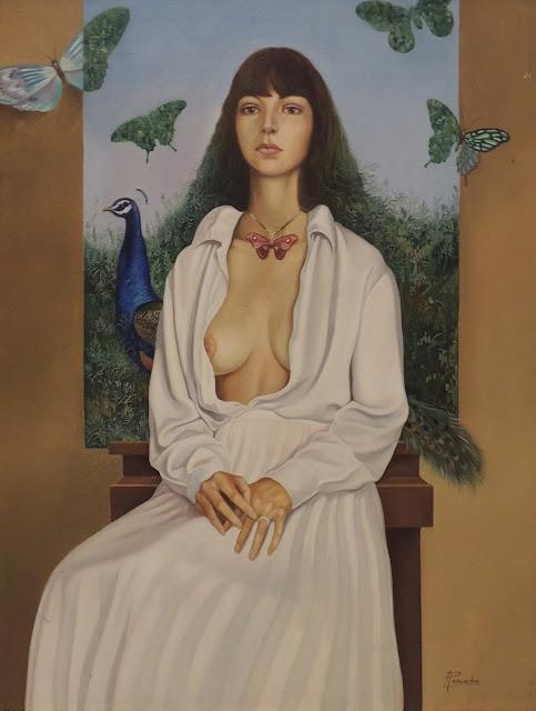 Alberto Pancorbo arte moderno hiperrealista surrealista feminina contemporáneo