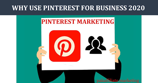 why use pinterest for business 2020