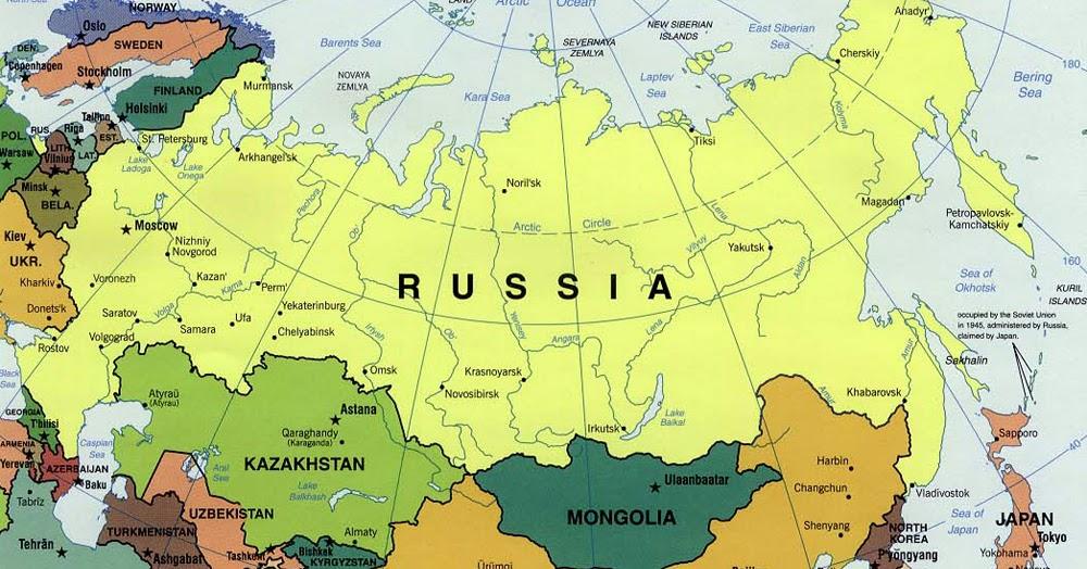 Cartina Russia Da Stampare.Ripasso Facile Riassunto Sulla Russia