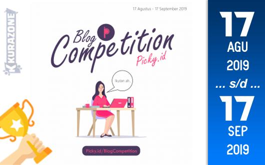 Kompetisi Blog - Picky Berhadiah Uang Tunai Jutaan Rupiah