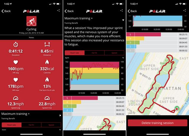 Top 4 Apps de Fitness: Polar Beat