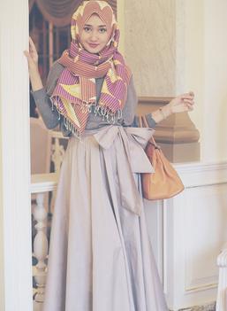 model baju gamis dian pelangi