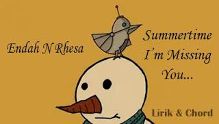 Chord Kunci Gitar Endah N Rhesa Summertime I'm Missing You