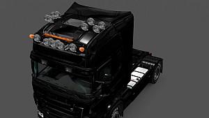 GTM Scania T & RJL Kelsa Double Roofbar