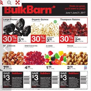 Bulk Barn Flyer Deals so great valid June 1 - June 21, 2017