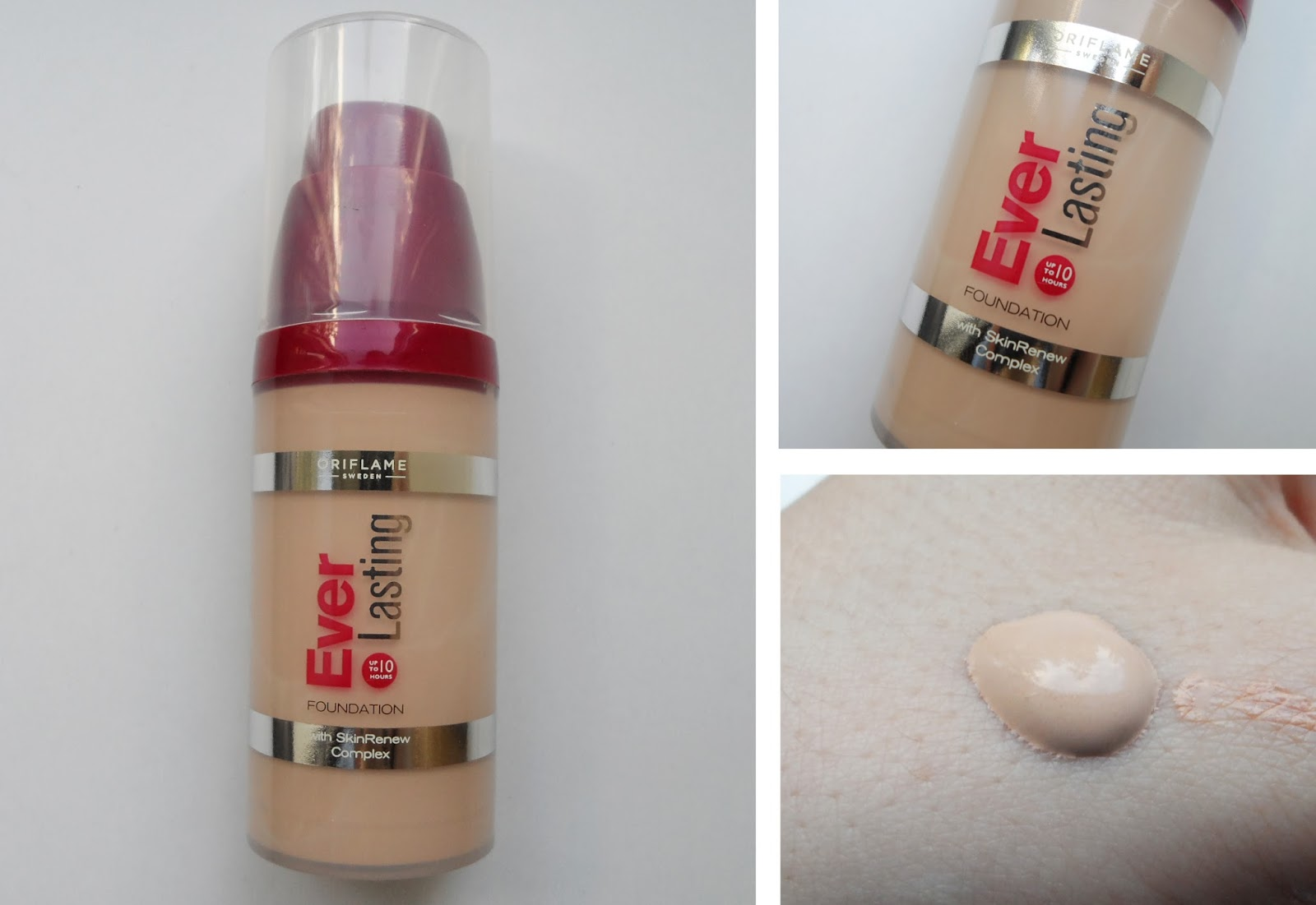ever lasting foundation oriflame porcelain review makeup