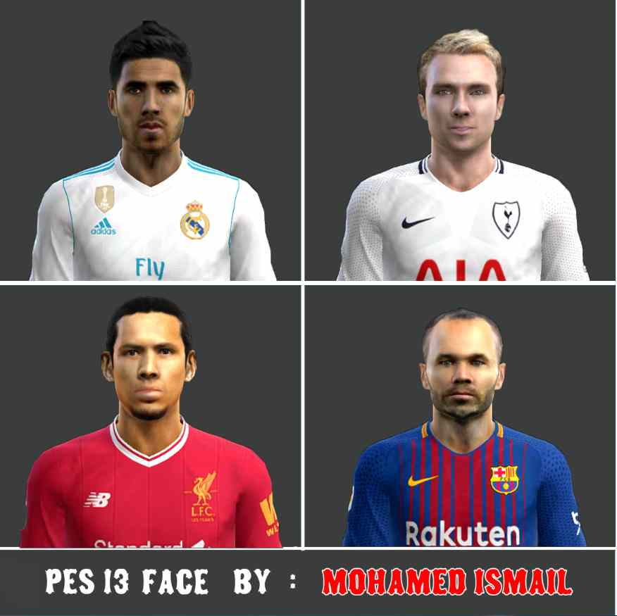 Ultigamerz Pes 2010 Pes 2011 Face: Ultigamerz: PES 2013 New Faces 2018/19
