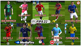 Download FIFA 2022 Android New Commentary Callname Update Transfer & Fix Manager Mode