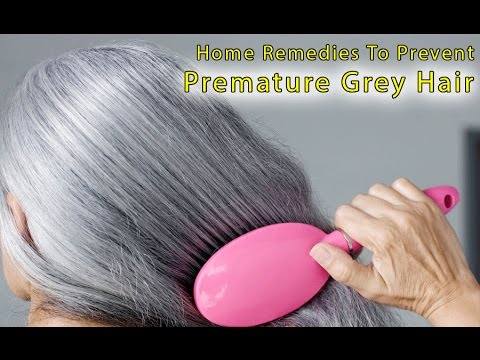 Premature greying of hair home remedies