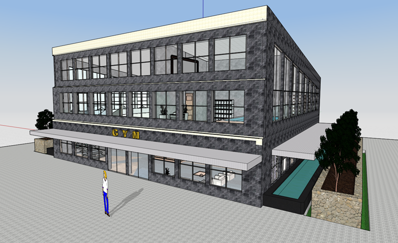 gym design in formit