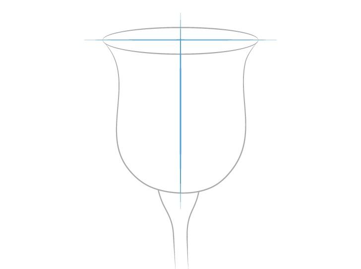 Gambar konstruksi mawar