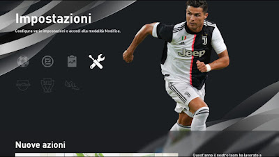 eFootball PES 2020 Menu Best Players by Andò12345