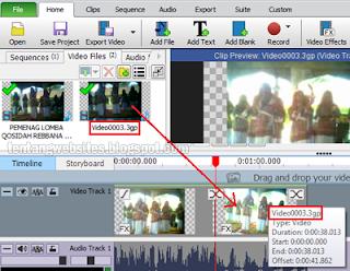 Cara menggabungkan vidio dengan mudah