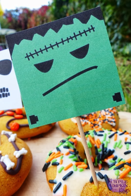 #Halloween Cupcake Toppers Free #Printables #CraftyOctober