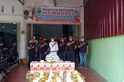 Sambut Idulfitri, Pewarta Polrestabes Medan Bagikan Paket Lebaran ke Jurnalis