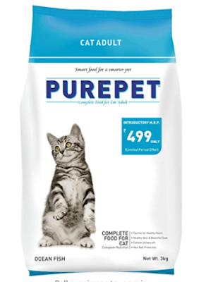Purepet Adult Dry Cat Food Ocean Fish